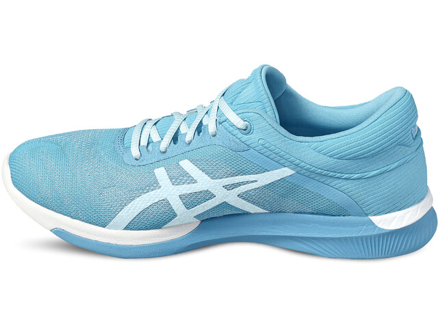 asics fuzeX Rush Shoes Women aquarium/white/pale blue